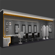 Modern hanging wall display cabinets used hair salon furniture