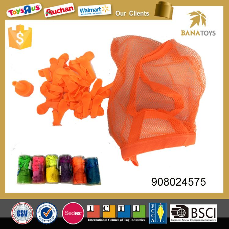 Promotional kids toys water balloon with bag