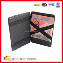Wholesale leather credit card <strong>wallet</strong> , men slim <strong>wallet</strong> , magic <strong>wallet</strong> made in china