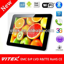 Hot 8 inch Capacitive 8G Flash 1GB DDR Rockchip Driver