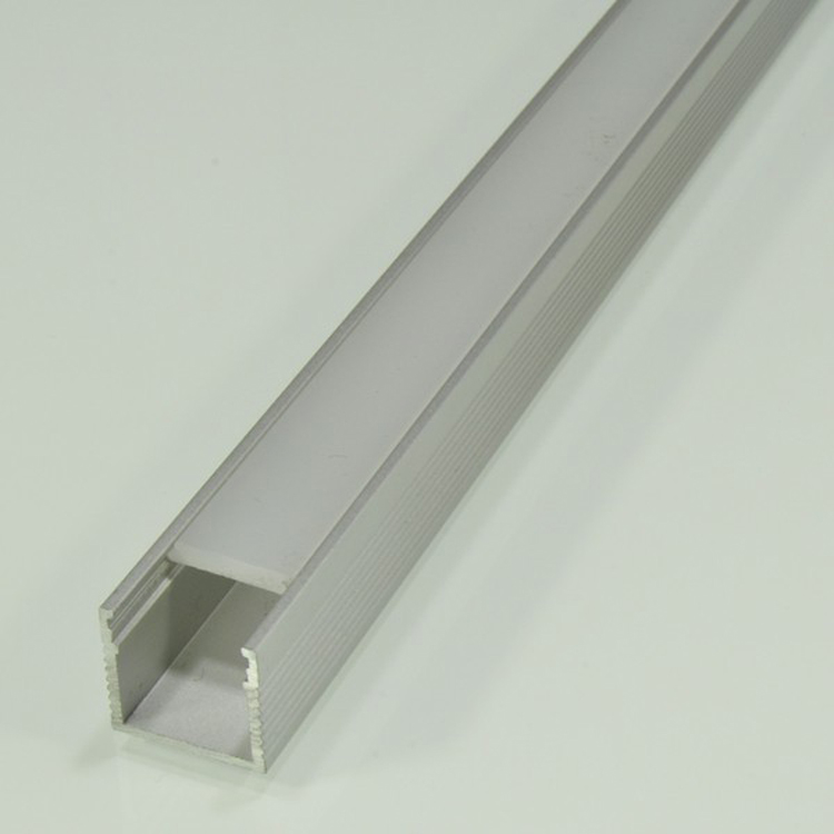 Square Aluminium Profile For Led Strips Factory