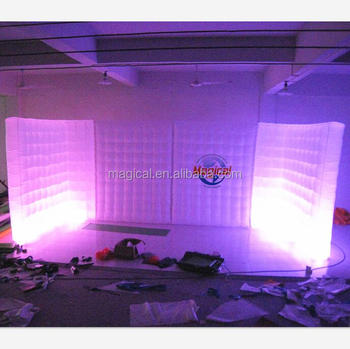 Fashional Inflatable Air Wall with LED