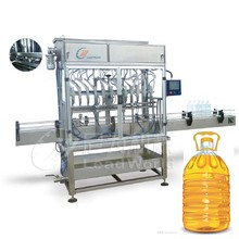 Fully automatic vegetable oil filling machine products line