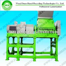 Scrap tire rubber shredder machine for sale(separating wire) in tyre recycling line