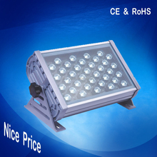 IP65 garden flood light dmx rgb outdoor led floodlight 36w