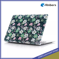 2016 New Floral Wallpaper Pattern Hard Shell Plastic Case Print for MacBook Air 11.6 13.3 Pro Retina 12 13 15 Cover