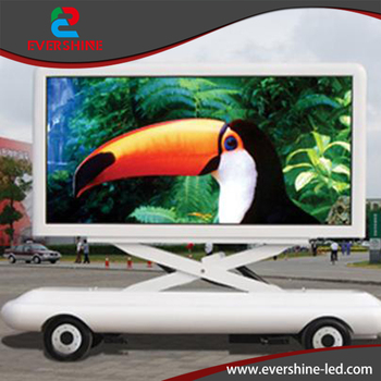 P10 Outdoor fixed iron RGB Advertising High Definition Video LED videl player