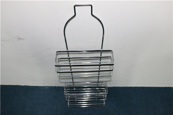Fashionable Kitchen Bathroom Rack With Suction Cup /Bathroom Rack