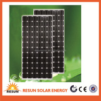 2014 Newest 180w Monocrystalline Solar Panel Pv Module Solar Model