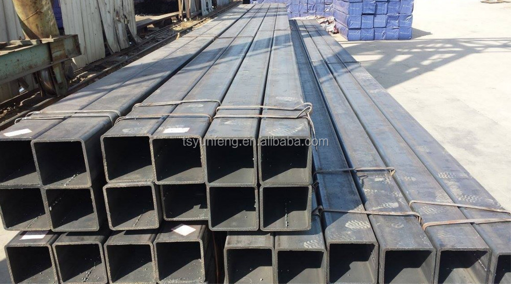 Ms square pipe price hollow steel tube