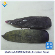 synthetic Superior Change Amethyst Corundum 46# Rough suppliers