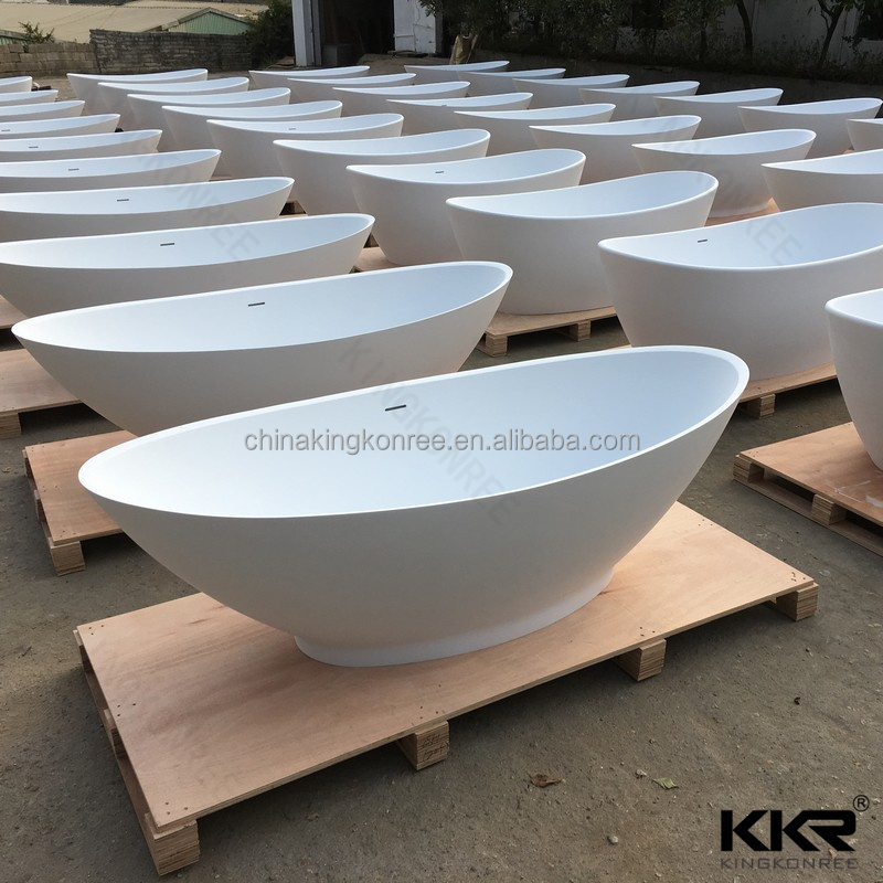 kkr artificial stone bathtub/ bathtub sizes in feet/ round stone bathtub