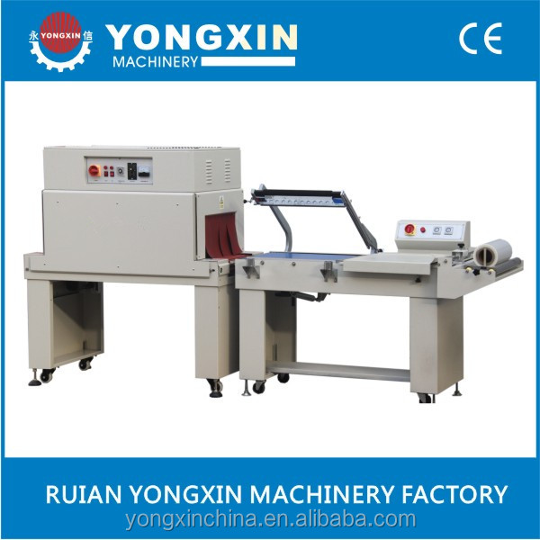 Manual Black Tea Box L Sealing And Shrink Wrapping Machine