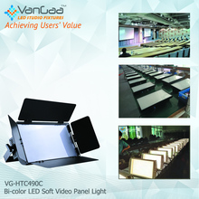 Quality square bicolor soft studio LED Video Panel Light With Iso9001 2008