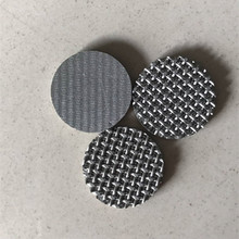 1 2 5 10 25 50 60 90 100 300 Micron porous stainless steel 304 316 316L sintered filter mesh disc