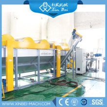 waste plastic recycling PP PE film bags bottle washing line