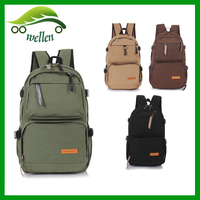 Hot new design custom sale OEM service popular japanese high school young girl and boy more pockets travel backpack school bag