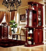 Living room furniture partition Luxury wooden living room cabinet divider