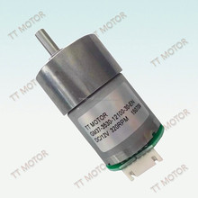 off-set shaft 37mm permanent magnet high torque 24 volt dc motor