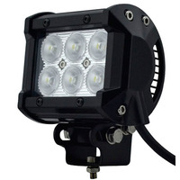 Sales Promotion!!atv led light spot Off-Road SUV ATV 4WD 4x4 Spot / Flood Beam 9-32V 1600lm IP67 Motorcycle Head Lamps