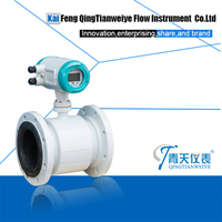 pulse output high performance magnetic flow meter