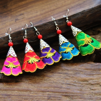 Unique 5 Colors Fashion Earring