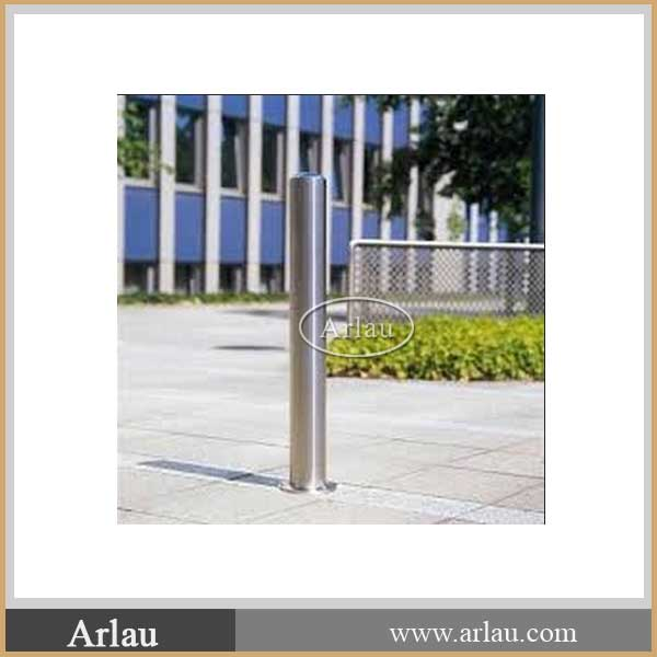 High quality Round Hotel Car Parking Stainless Steel Bollard