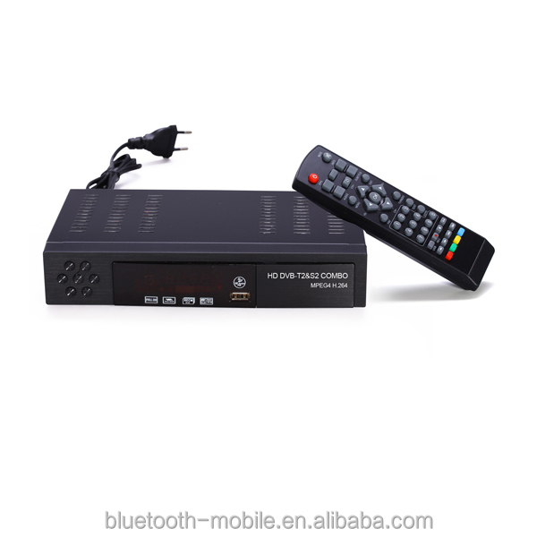 2016 most popular in Ghana Africa SUPPORT POWERVU YOUTUBE BISS DVBT2+S2 COMBO set top box tv receiver