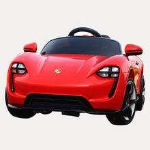 Simulation car red plastic kids battery powered cheap electric kids car