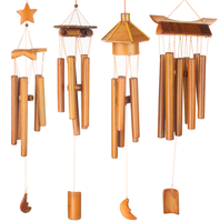Handmade wholesale bamboo wind chime tube for home decor