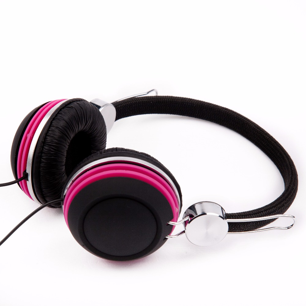 Fancy promotion price upgrade quality three layers rubber finish headphone