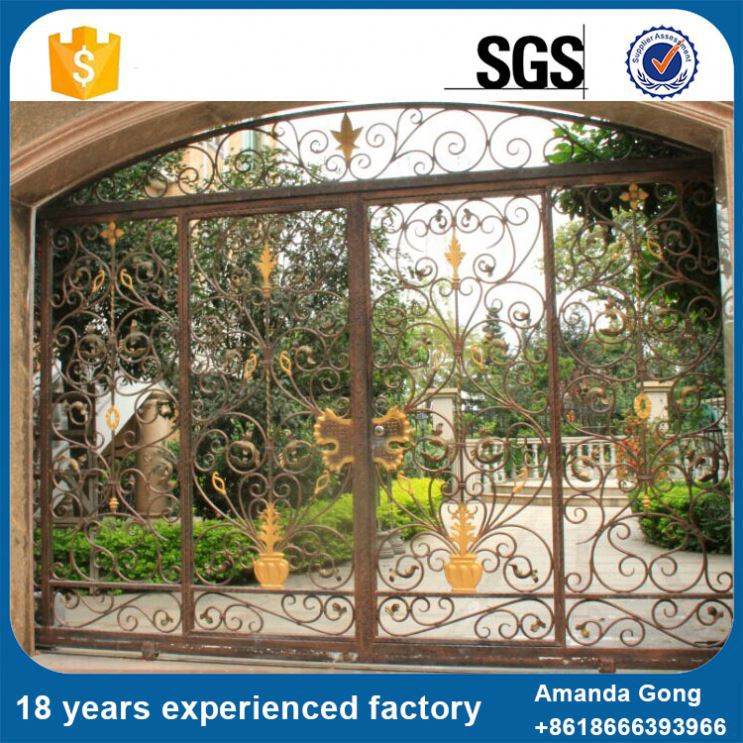 Different Type Residential Swing Driveway Gate
