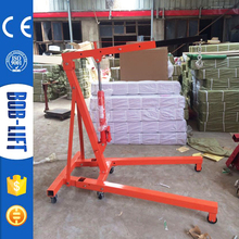 Hot Sale Hand Operated Small Hydraulic 2 Ton Foldable Shop Crane