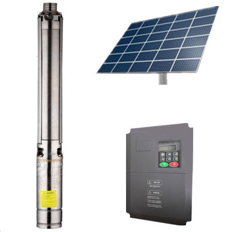 new green energy 1 hp to 25 hp solar water pump system with MPPT inverter