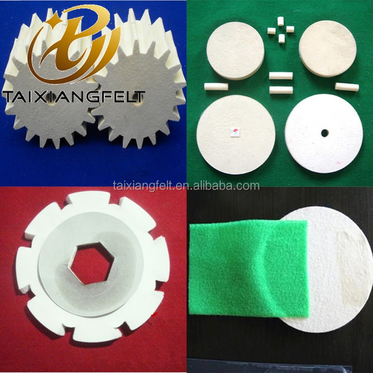 hot sale industrial Wool Felt Polishing Wheel for Stainless Steel