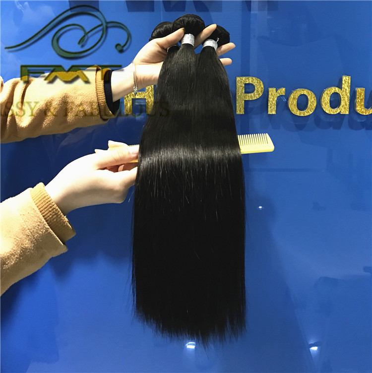 High feedback very thick full ends raw brazilian hair weave