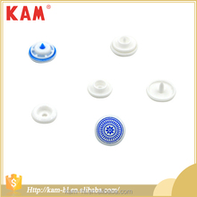 Various size kam clothes bag plastic custom logo snap button