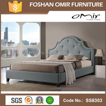 Omir furniture modern bedroom furniture royalty style crystal bed set SS8303