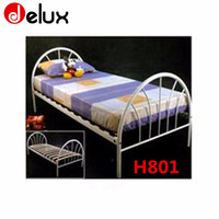 high quality single bed with storage metal double bunk beds H801