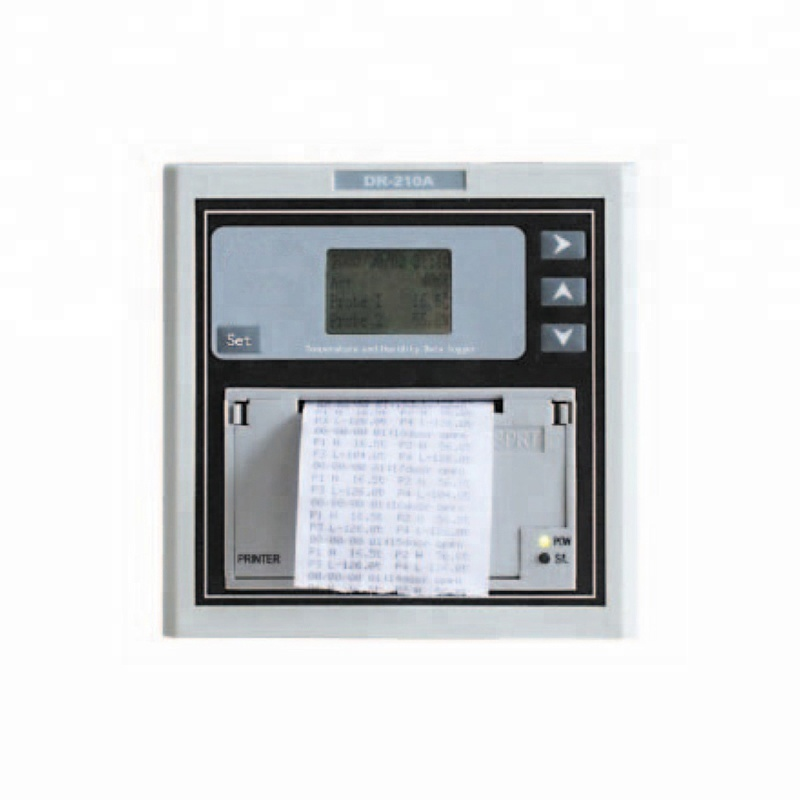 DR-210A Real-time Transmission and Printing <strong>Temperature</strong> and Humidity Data Logger with USB, RS485 interface