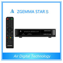 New Products Zgemma-Star S linux based dvb-s2 digital mpeg4 tv receiver replace cloud ibox 2 PLUS SE