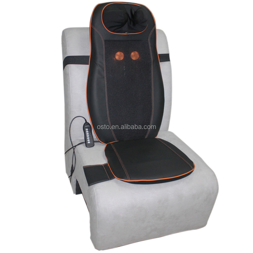 Multi function shiatsu and vibration seat and sofa massage cushion