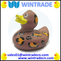 Gift duck toy, plastic floating promotional bath duck