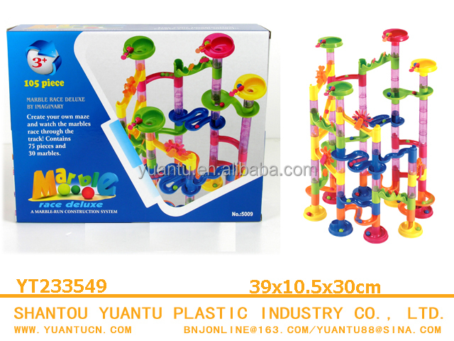 30pcs marble run educational toys