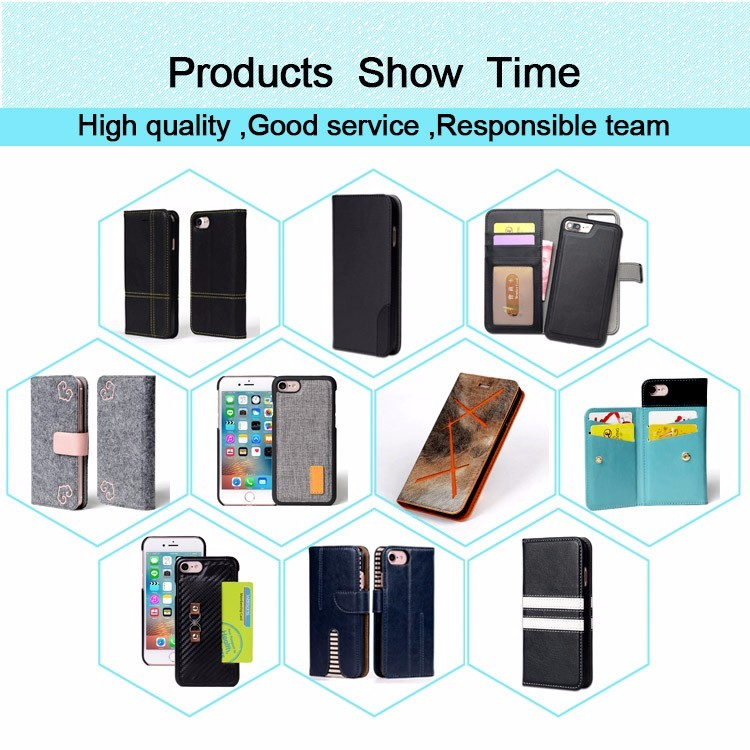 PU Leather Custom Printed, Blank Sublimation phone case for iPhone 7