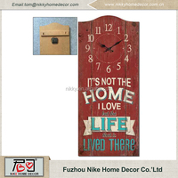 New design fashion low price rectangle digital wall clock