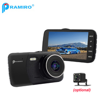 Front and back lens car dvr full hd 1080P T600 car video recorder with parking mode