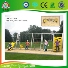 Guangzhou plastic swing sets/plastic slide swing set JMQ-J134A