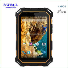 IPS screen NFC IP68 3G phone call rugged tablet pc china manufacturer brand your own tablet