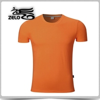 summer wholesale blank merzerized cotton t-shirt
